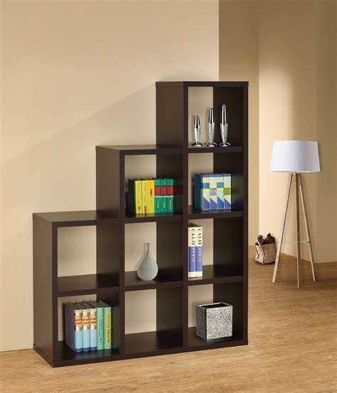 apartment cheap bookshelf ideas with simple design