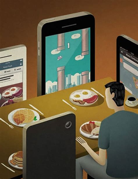 ad home design show 2016 65 satirical illustrations show our addiction to technology