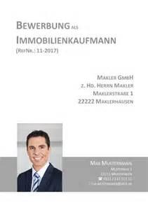 Bewerbung Immobilienkaufmann Deckblatt In Der Bewerbung 252 Ber 100 Kostenlose Muster Vorlagen