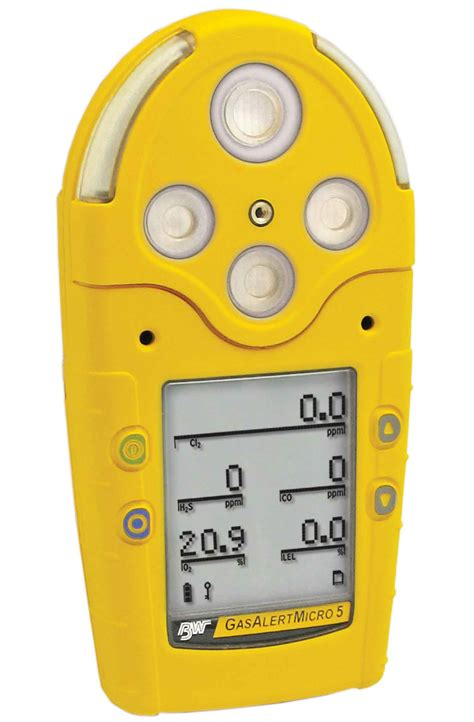 Multi Gas Detector gasalertmicro 5 ir portable gas detector a multi gas detector for five atmospheric hazards