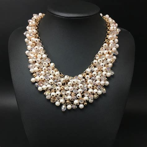 chain for jewelry wholesale 2016 high quality pearl necklace