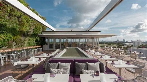 roof top bar miami top 10 restaurants in miami beach for dinner catherine colle