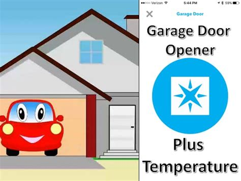 Phone Garage Door Opener Phone Garage Door Opener With Bme280 Temp Hackster Io