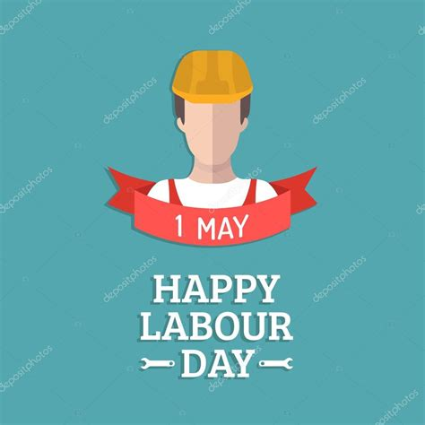 how to make a labour day card happy labour day card stock vector 169 vladayoung 108697922
