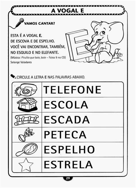 atividades para imprimir atividades infantil alfabetiza 231 227 o para imprimir