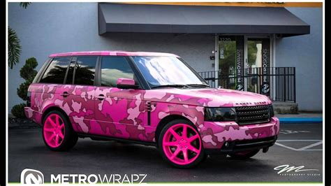 range rover pink dia show tuning pink camouflage range rover by austin