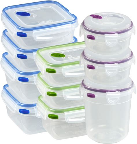 plastic food storage containers with lids food storage containers with lids set of 20 in plastic