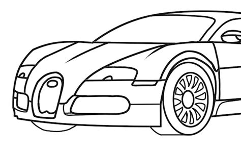 supercar drawing cars drawing clipart best