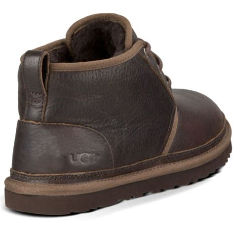 mens australian boots ugg australia s neumel leather boots china tea