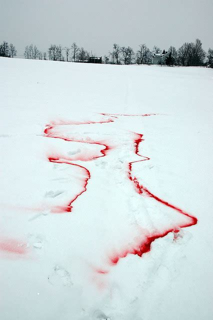 blood on snow scary disney embolden the writer