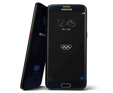 Samsung S7 Limited Edition Samsung Galaxy S7 Edge Olympic Limited Edition