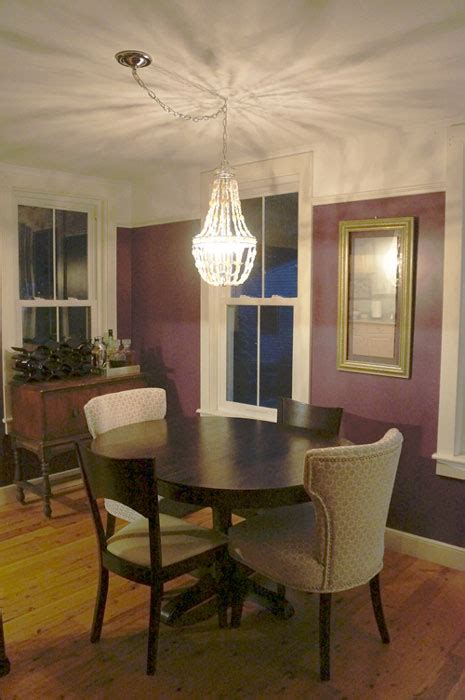 Dining Table Swag Chandelier Dining Table