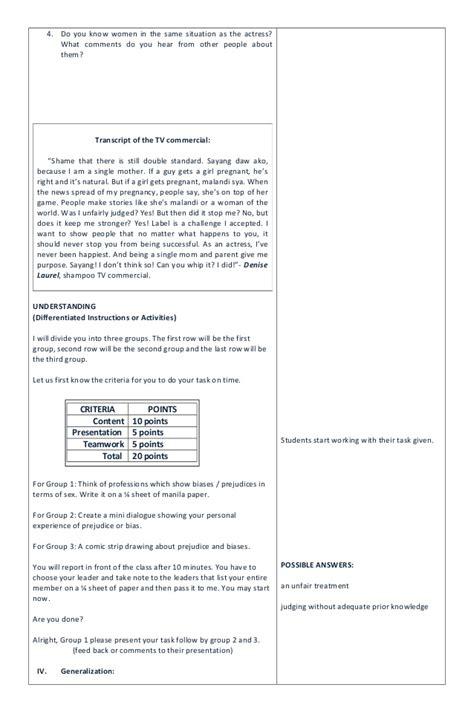 biography lesson plan grade 4 grade 10 mathematics lesson plans term 3 life sciences