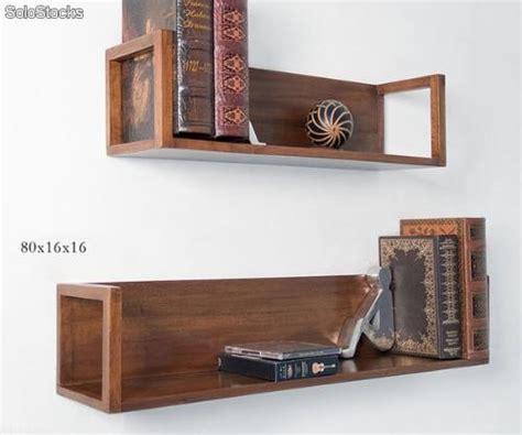 estante de pared estante de pared de madera de teka