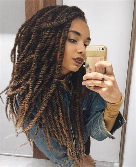 mollie twist hairstyles marley twists pinteres