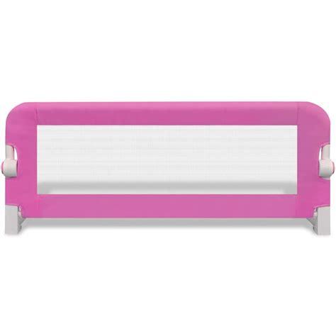 barriera per letto barriera di sicurezza per letto bambino 102 x 42 cm rosa