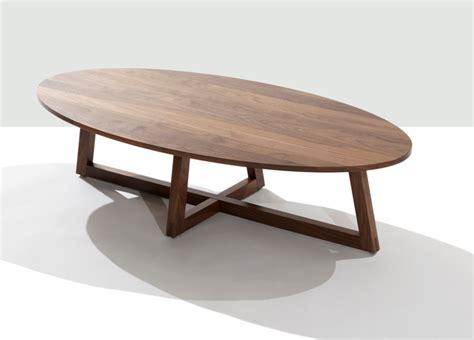 Modern Oval Coffee Tables Finn Oval Coffee Table Contemporary Coffee Tables By Speke Klein