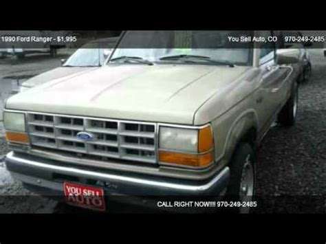 1990 ford ranger problems online manuals and repair