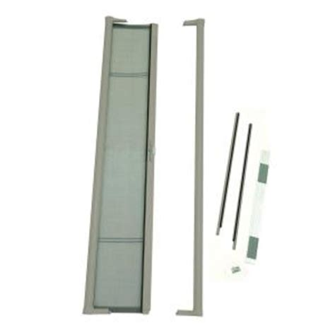 Home Depot Door Screens by Odl 36 In X 78 In Brisa Sandstone Height