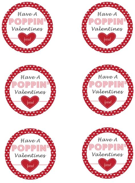 printable popcorn labels popcorn pops and valentine s day printables clean and