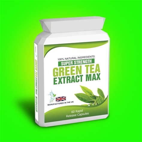 Green Tea Extract Detox by Green Tea Extract Capsules Plus Weight Loss Dieting