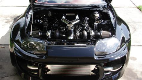 custom supra engine toyota supra gets powered by custom tundra engine