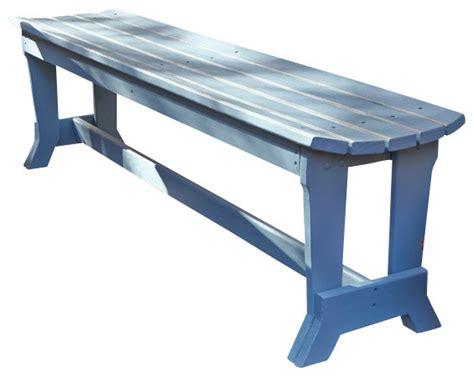 garden bench no back carolina preserves 3 seat bench no back natural