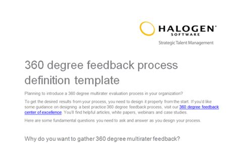 360 degree performance review template 360 degree feedback forms toolkit
