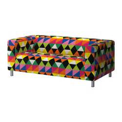klippan cover two seat sofa randviken multicolour ikea