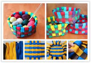 How to make colorful baskets how to instructions