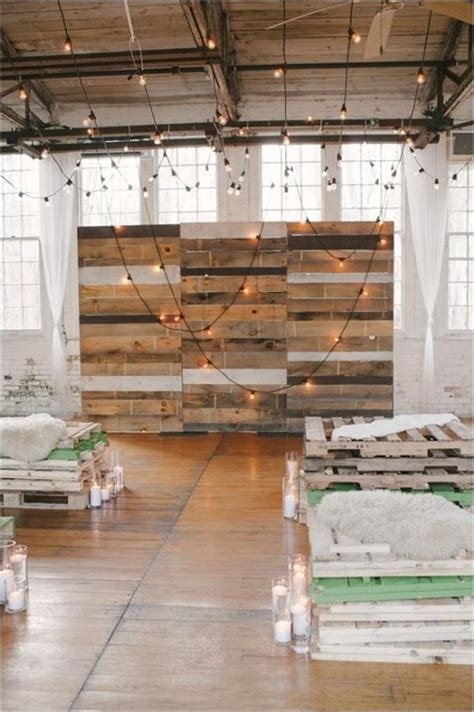 Pallet Wedding Decorations Ideas   Recycled Pallet Ideas
