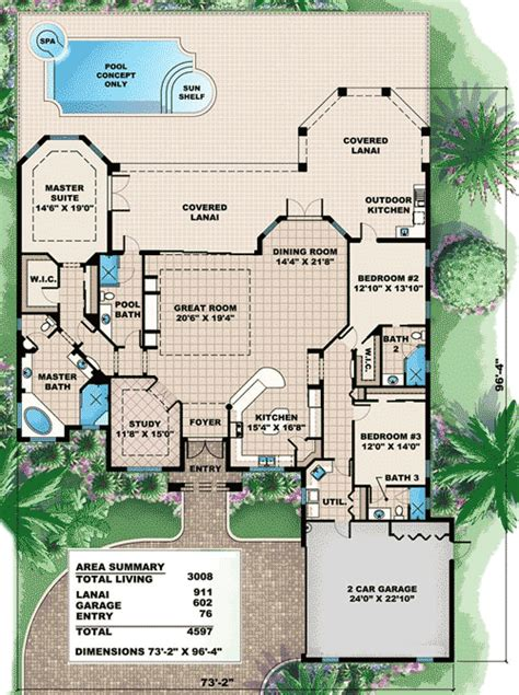 mediterranean house plan efficient mediterranean house plan 66284we