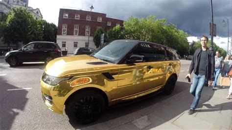 white and gold range rover gold range rover youtube