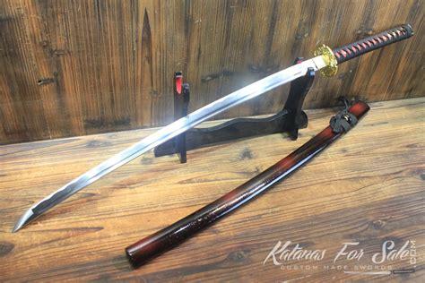 Handmade Swords For Sale - 1060 carbon steel heat tempered katana sword katanas for