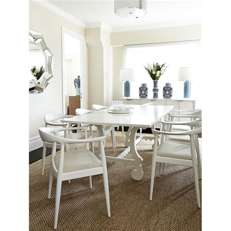 White Country Dining Table White Country Dining Table