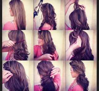 how to add height to hair blow dried hair teased at the crown to add height and