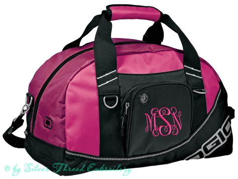 personalized duffle bag monogrammed gym duffel ogio