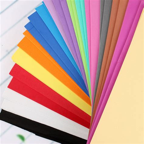 Foam Craft Paper - a4 2mm foam sheets sponge paper diy foam flower craft