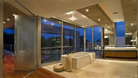 modern luxury bathrooms designs nicez glass house by nico van der meulen architects homedsgn