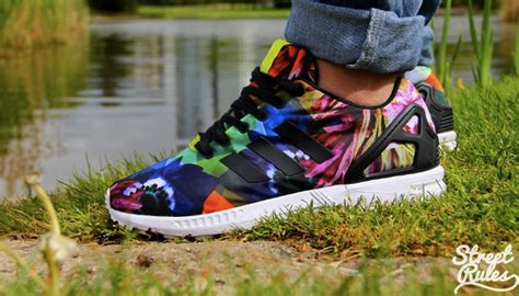Harga Adidas Zx Flux Indonesia adidas flux zx floral grab a