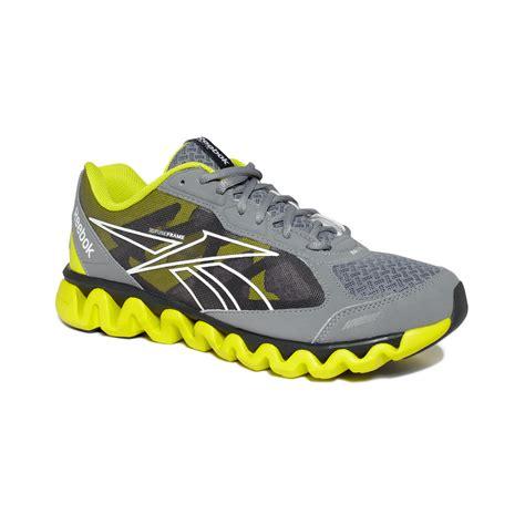 reebok sneakers for reebok ziglite sneakers in gray for lyst