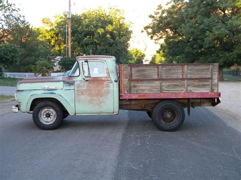 f250 truck bed for sale 1959 ford f 250 stake bed ranch truck for sale