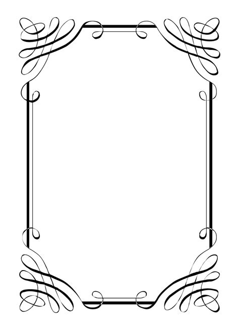 Wedding Border For Word by Printable Wedding Borders Clipart Best