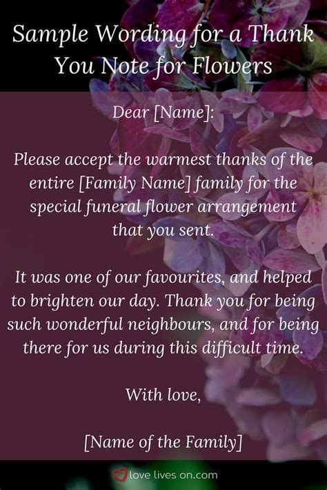funeral thank you note the 25 best funeral thank you notes ideas on