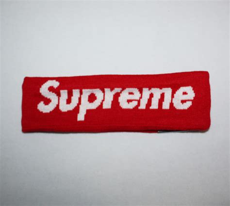 new era supreme 2014fw new era supreme headband dopestudent