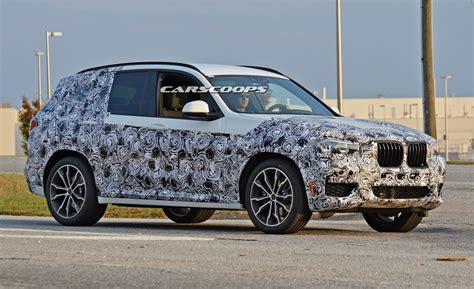 Porsche Macan Maße by 2018 Bmw X3 Shows More Skin In Latest Spy Shots Carscoops