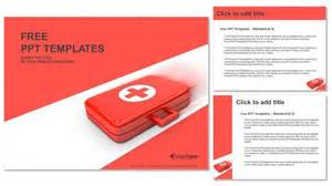 aid powerpoint template aid kit powerpoint templates