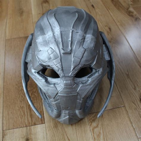 printable ultron mask 3d printable ultron fully wearable mask by stefanos