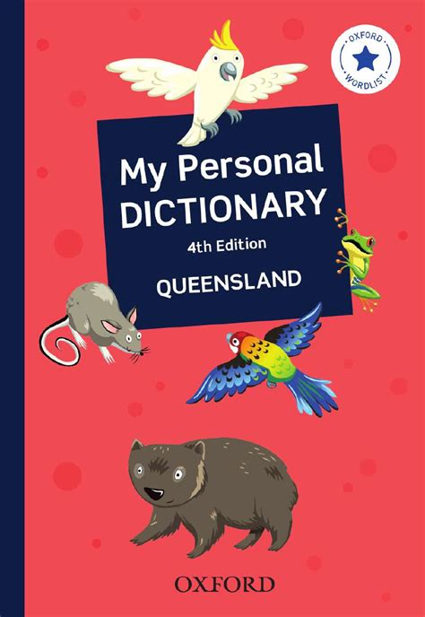 My Personal my personal dictionary queensland oxford press