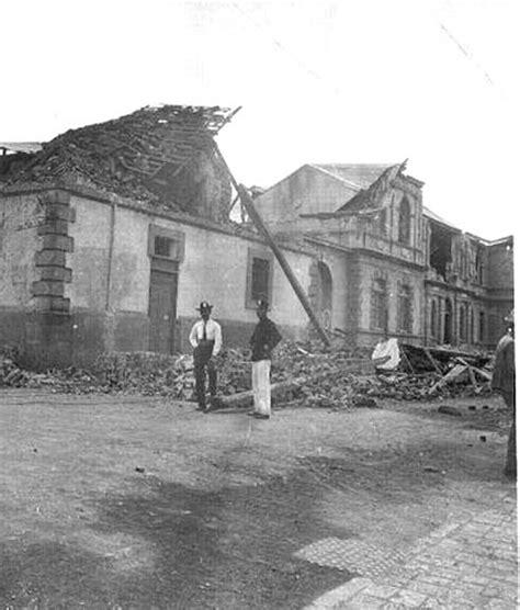 fotos antiguas ucr ucr conmemorar 225 centenario del terremoto de cartago